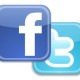 Twitter and Facebook Icon