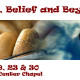 Bagels and Belief Banner