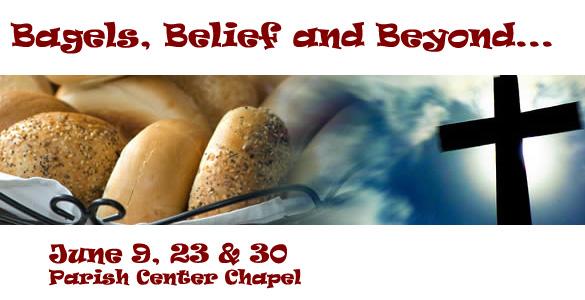 Bagels and Belief Banner