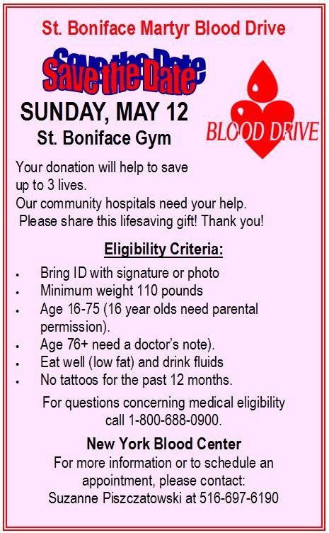Blood Drive 2013 ad