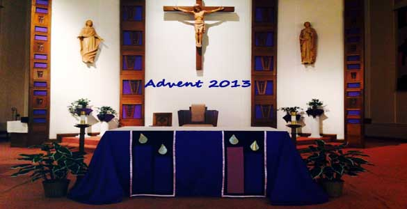 Advent Altar 2013 Banner