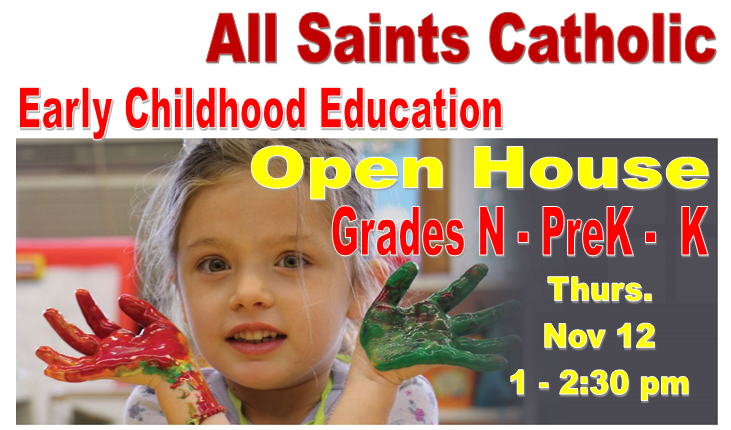 Early Childhood Education Open House FB Ad 12November15