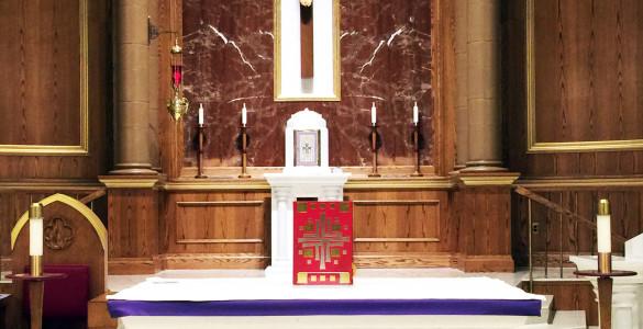 Lent Altar
