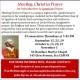 Meeting Christ in Prayer Bulletin Ad