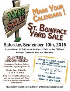 Yard Sale Poster