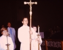 Procession at 75th Anniversary Mass 1973