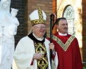 bishop-murphy-and-fr-bob-at-bell-tower