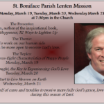 Lenten Mission, March 19 – 21