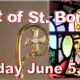 Bishop Barres Visit, St. Boniface Feastday Mass
